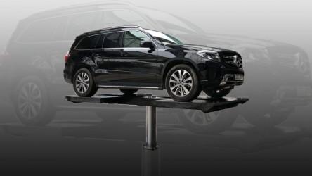 Cầu nâng 1 trụ - thiết bị không thể thiếu của các trạm rửa xe ô tô