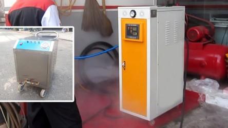 Có nên mua máy rửa hơi nước nóng giá rẻ khi mở trạm rửa xe?