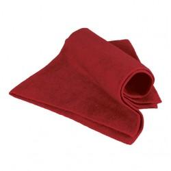 Khăn lau màu đỏ kích thước 40x40cm