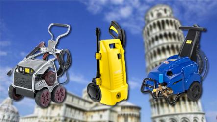 """Máy rửa xe cao áp của ITALY đang """"HOT"""" trên thị trường hiện nay 2019"""