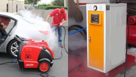 Nên mua máy rửa xe hơi nước nóng cao cấp hay giá rẻ ?