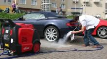 Các loại máy rửa xe hơi nước nóng có mặt trên thị trường hiện nay