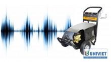 Cẩn thận với tiếng ồn lạ phát ra quá mức từ máy rửa xe