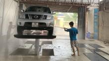 Cấu tạo của bộ cầu nâng 1 trụ rửa xe ô tô Senok như thế nào?