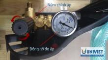 Chỉnh áp lực máy rửa xe như thế nào giúp máy chạy bền, an toàn