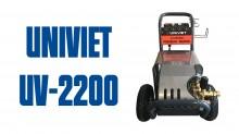 Giới thiệu Máy rửa xe cao áp UNIVIET UV-2200