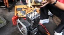Hướng dẫn cách thay dầu nhớt máy rửa xe cao áp