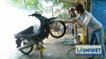 Kinh nghiệm mở tiệm rửa xe máy cho những ai ít vốn