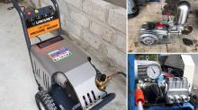 Máy rửa xe Nhật bãi và máy rửa xe Uni Việt – Nên dùng loại nào cho tiệm rửa xe?