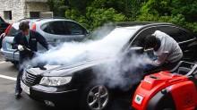 Những công dụng của máy rửa hơi nước nóng trong việc chăm sóc xe