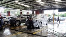 Những thiết bị cần có khi mở trạm rửa xe ô tô, xe máy