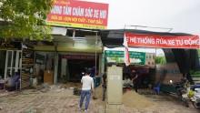 Lắp đặt cầu nâng 1 trụ tại trung tâm chăm sóc xe Thu Oanh - Thị trấn Đông Anh, Hà Nội