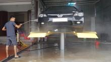Phân tích ưu điểm và hạn chế của cầu nâng 1 trụ rửa xe Senok