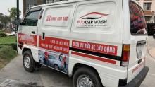 Rửa xe di động – Xu hướng rửa xe mới nhất 2019