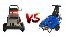 So sánh máy rửa xe cao áp của Trung Quốc và máy Mazzoni của Italy