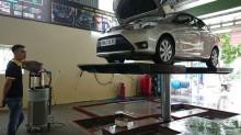 Tại sao nên chọn cầu nâng 1 trụ Senok của Ấn Độ cho Trạm rửa xe chuyên nghiệp?