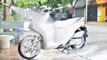 Trọn bộ thiết bị rửa xe máy chuyên nghiệp khuyên dùng