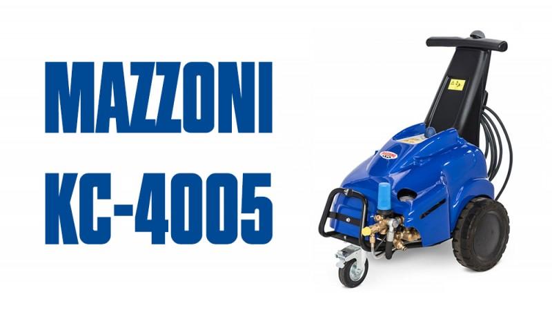 Giới thiệu Máy rửa xe cao áp MAZZONI KC4005 – Italy